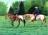 Western, Equine Art - Appy Trails