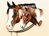 Mares and Foals, Equine Art - Just Like Dad