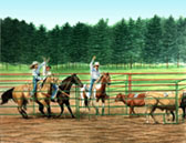 Western, Equine Art - Time