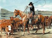 Western, Equine Art - Weaning Time